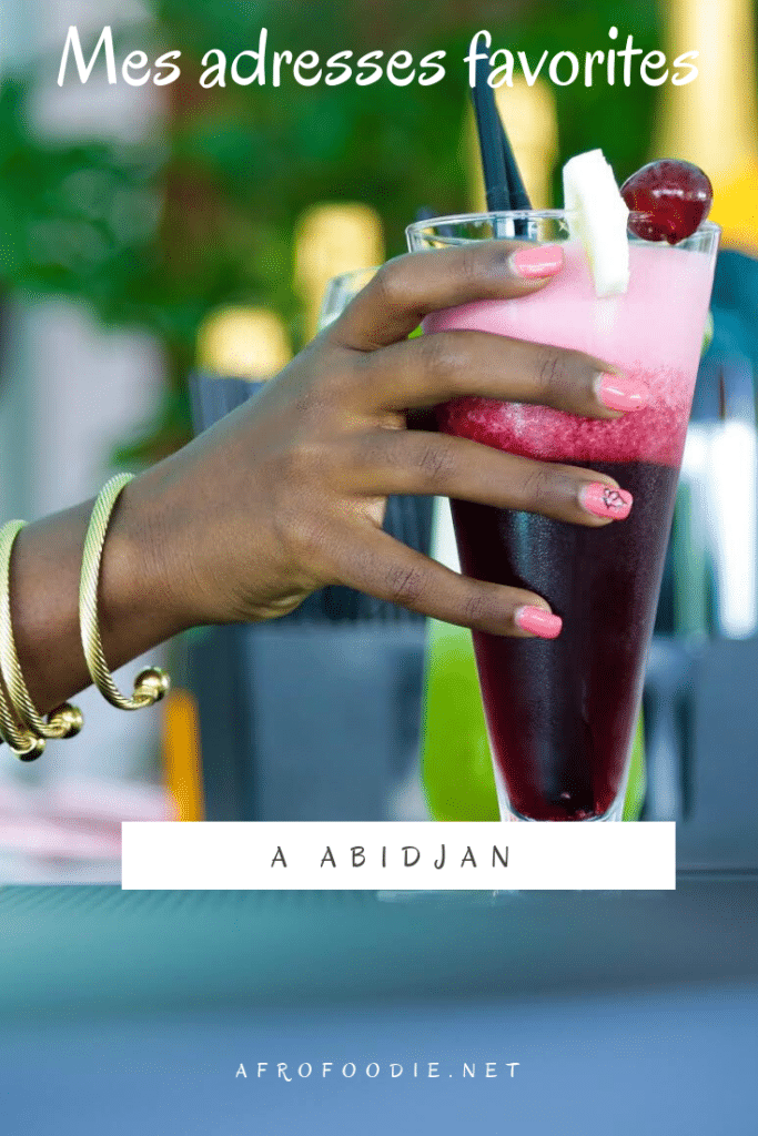 adresses favorites à Abidjan