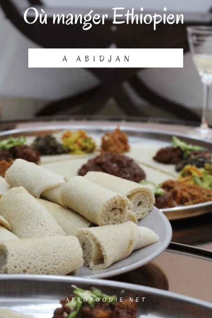 manger Ethiopien à Abidjan