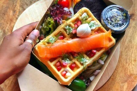Manger sainement à Abidjan par Afrofoodie
