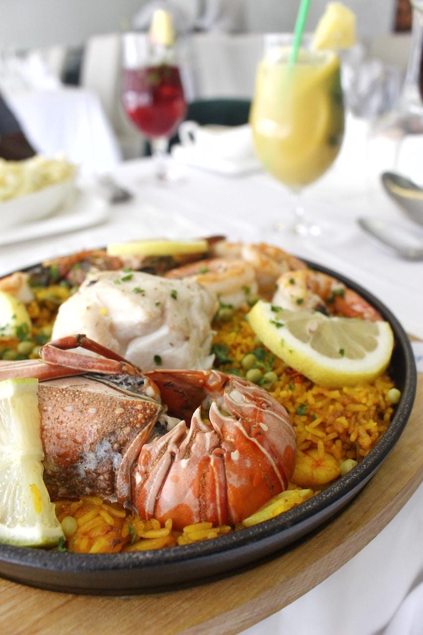Paella Royale - Restaurant L'Ocean
