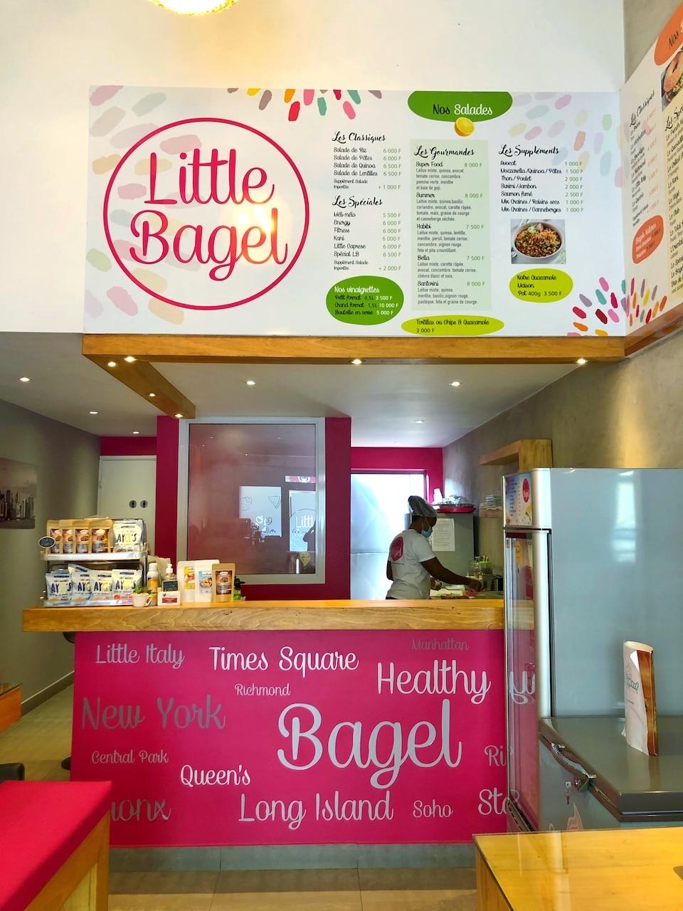 Little Bagel Abidjan - Abidjan Foodie Guide