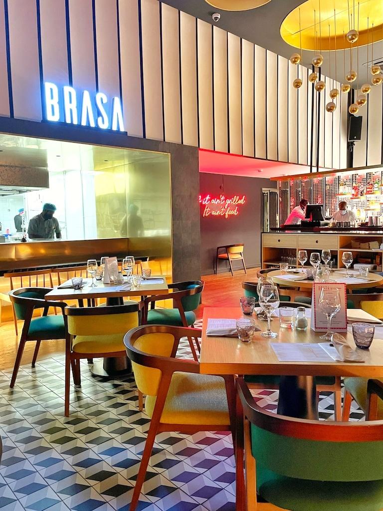 Restaurant Brasa - Accra, Ghana